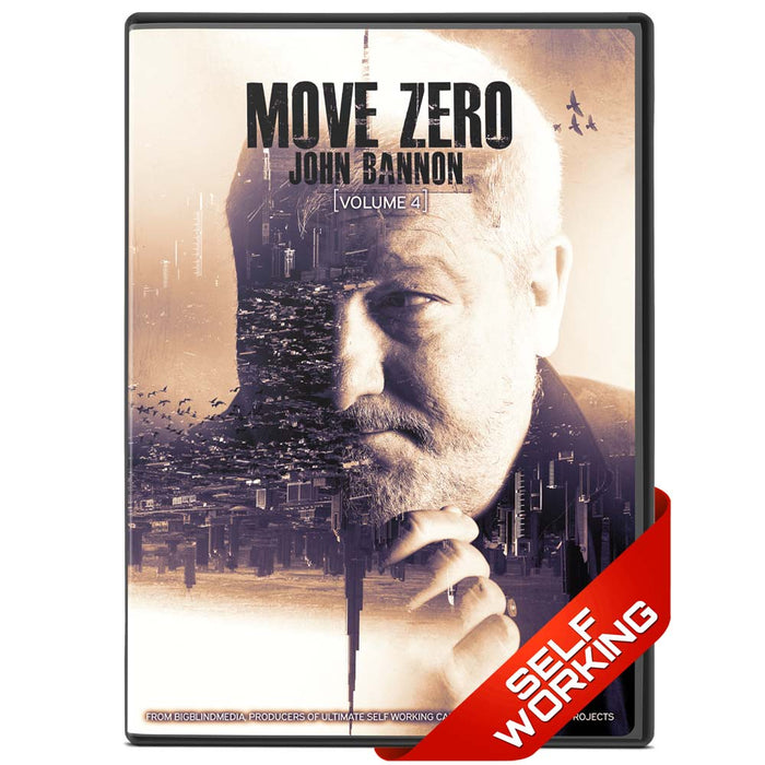 Move Zero Boxset by John Bannon - Volumes 1, 2 , 3 & 4