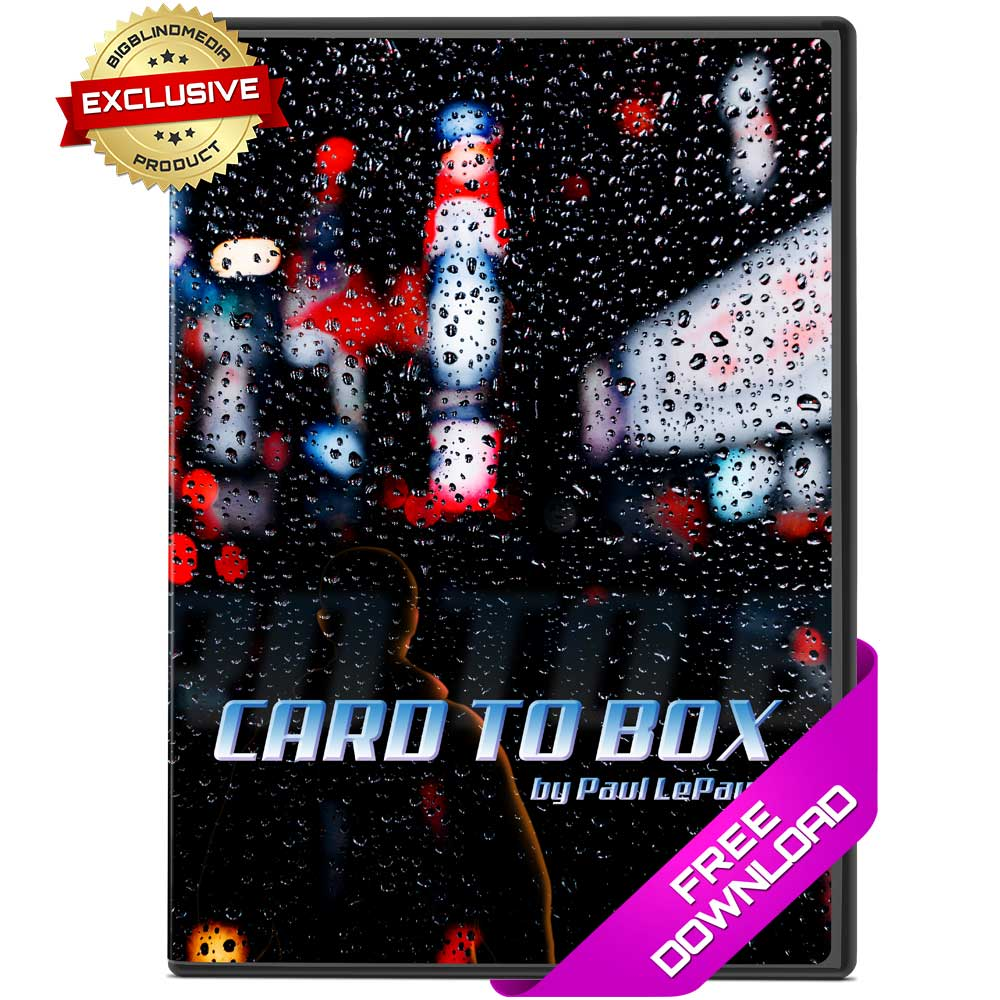 Card To Box by Paul LePaul - Free Video Download
