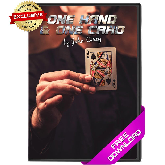 One Hand One Card by John Carey - Free Video Download