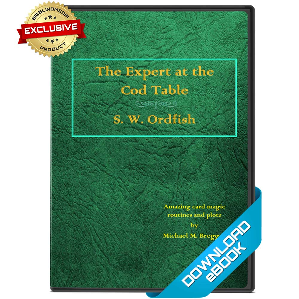 The Expert at the Cod Table eBook by Michael Breggar