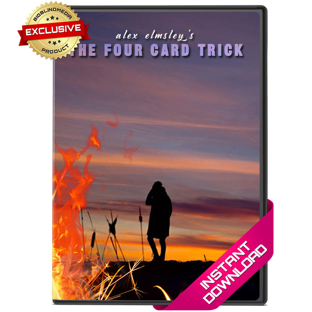 The Four Card Trick by Alex Elmsley - Video Download