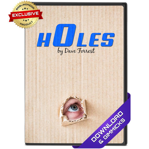 Holes by Dave Forrest - eBook & Gimmick