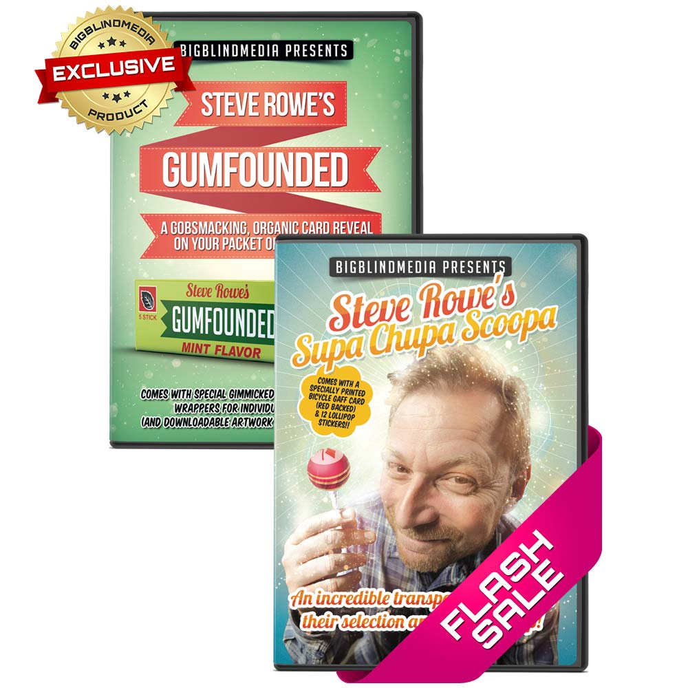 Gumfounded and Supa Chupa Scoopa - Bundle Deal
