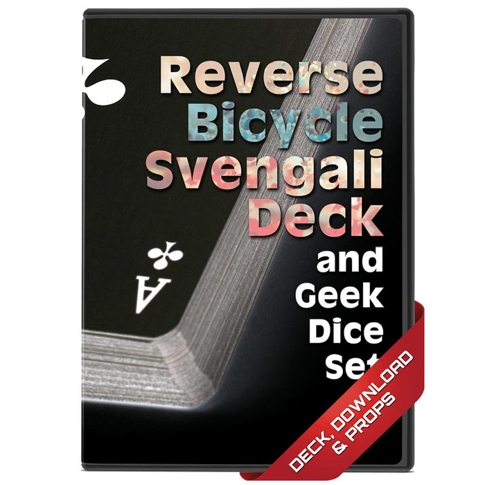 Bicycle Reverse Svengali Deck & Geek Dice Set