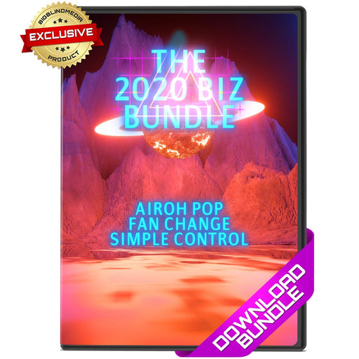 The Biz Bundle - Simple Control Fan Change Airoh-Pop
