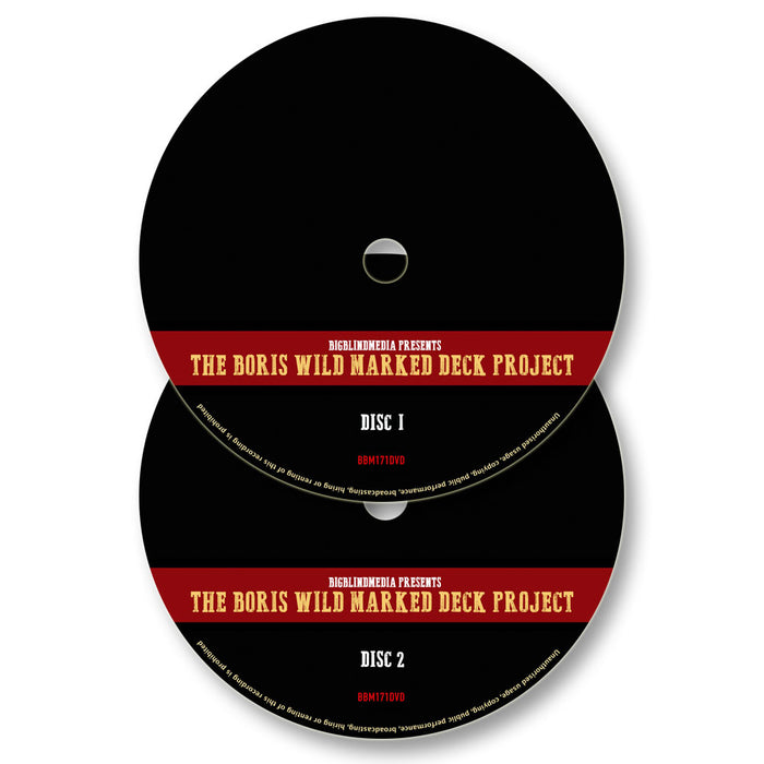 Boris Wild Marked Deck Project - 2 DVD Set