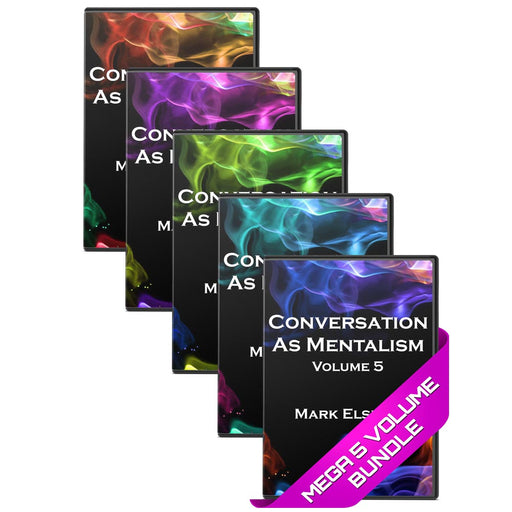 Mentalism as Conversation by Mark Elsdon 5 Volume eBook Bundle