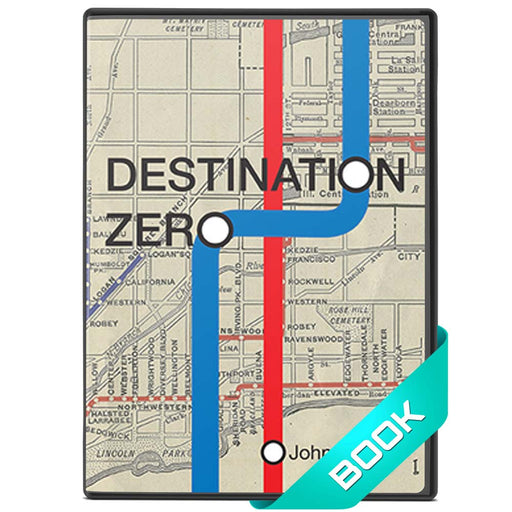 Destination Zero Book by John Bannon - Self Working Card Magic