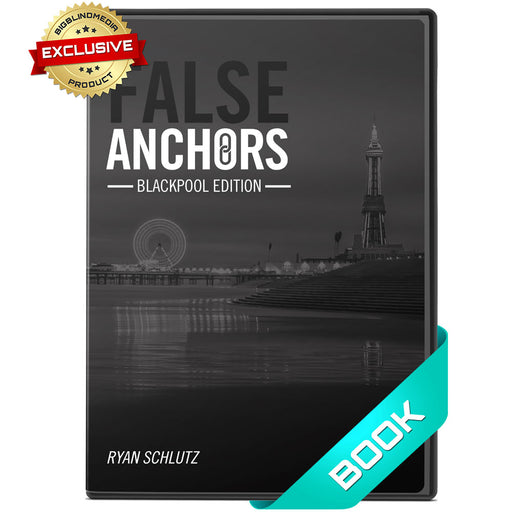 False Anchors Book by Ryan Schlutz - BBM Rare Exclusive