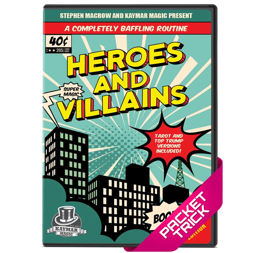 Heroes and Villains by Stephen Macrow