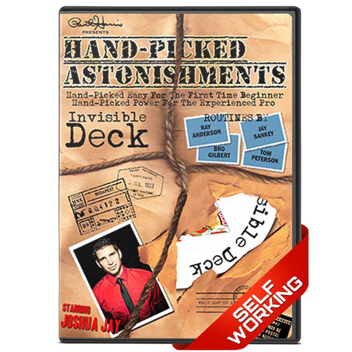 Hand-picked Astonishments (Invisible Deck) DVD DLOAD - bigblindmedia.com