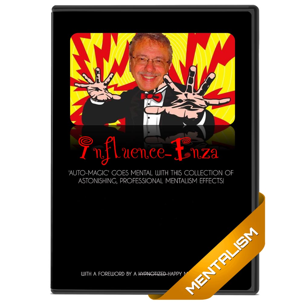 Influence-Enza by Michael Breggar - Instant Download Mentalism eBook