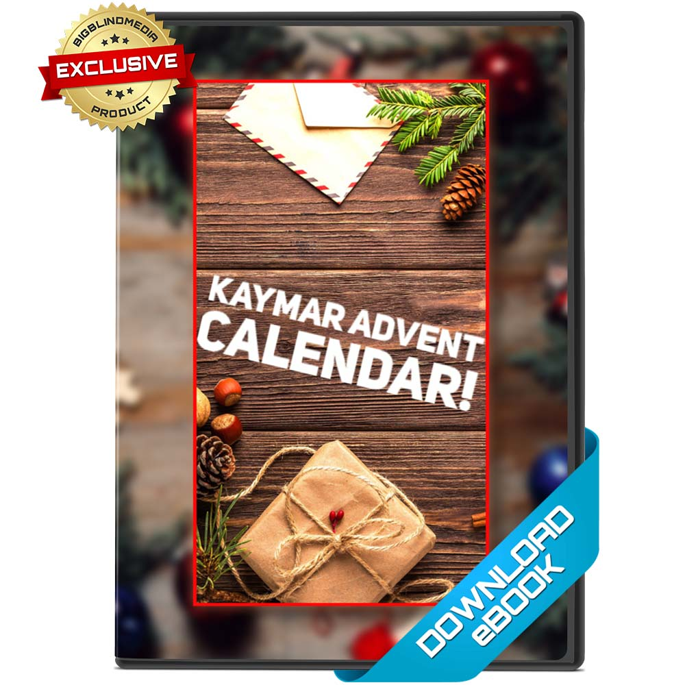 The Kaymar Magic Advent Calendar - 24 exclusive tricks from Liam Montier