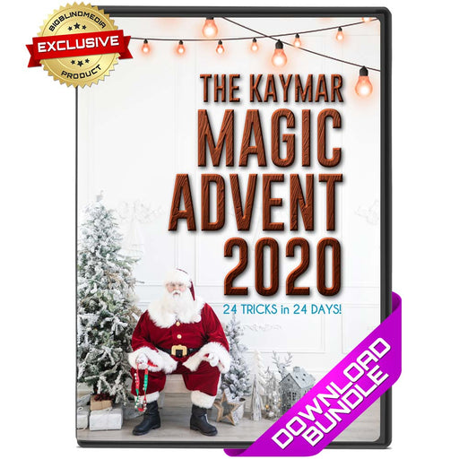 Magic Advent Calendar 2020 - 24 exclusive tricks from Liam Montier