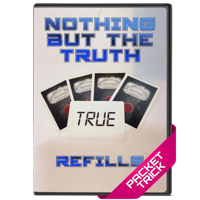 Nothing But The Truth - Gaff Refill Pack! - bigblindmedia.com