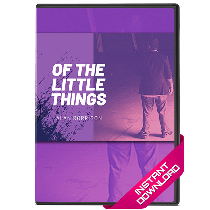 Of the Little Things Vol. 1 by Alan Rorrison - Video Download