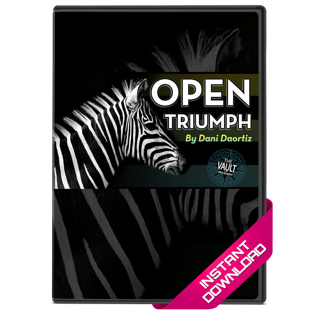 Open Triumph by Dani DaOrtiz Video Download