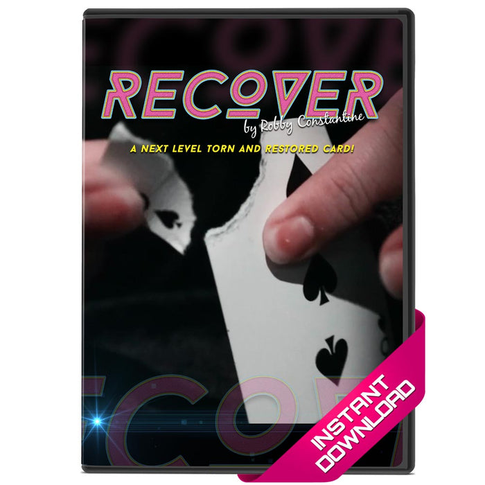 Recover by Robby Constantine - Video Download