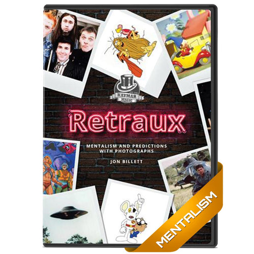 Retraux by Jon Billett - Mentalism with TV shows