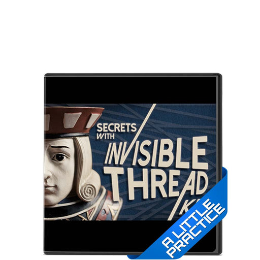 Secrets With Invisible Thread Kit - DVD and Props