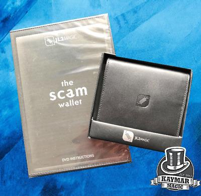 The Scam Wallet - Leather Switch / Index Wallet, booklet, DVD and eBook