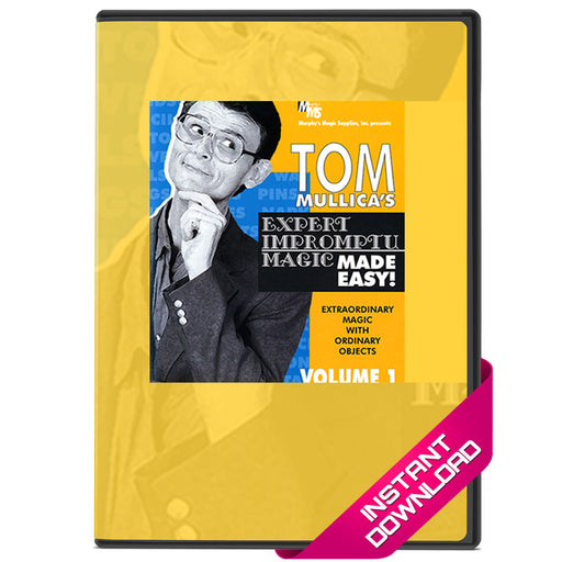 Tom Mullica Expert Impromptu Magic Volume 1 - Video Download