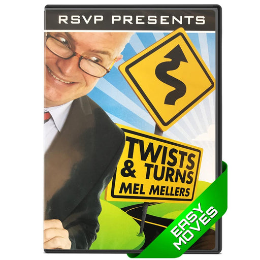 Twists and Turns DVD by Mel Mellers