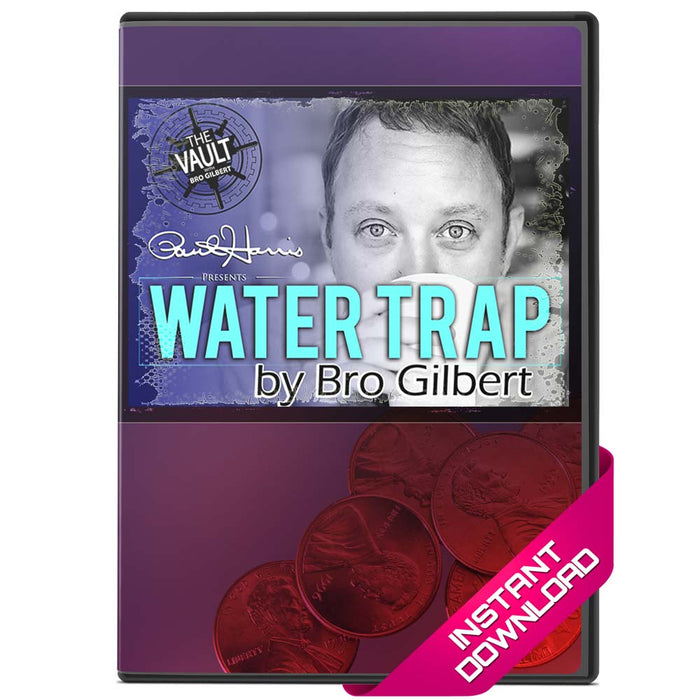 Water Trap by Bro Gilbert Signed Coin In Matchbook - Video Download