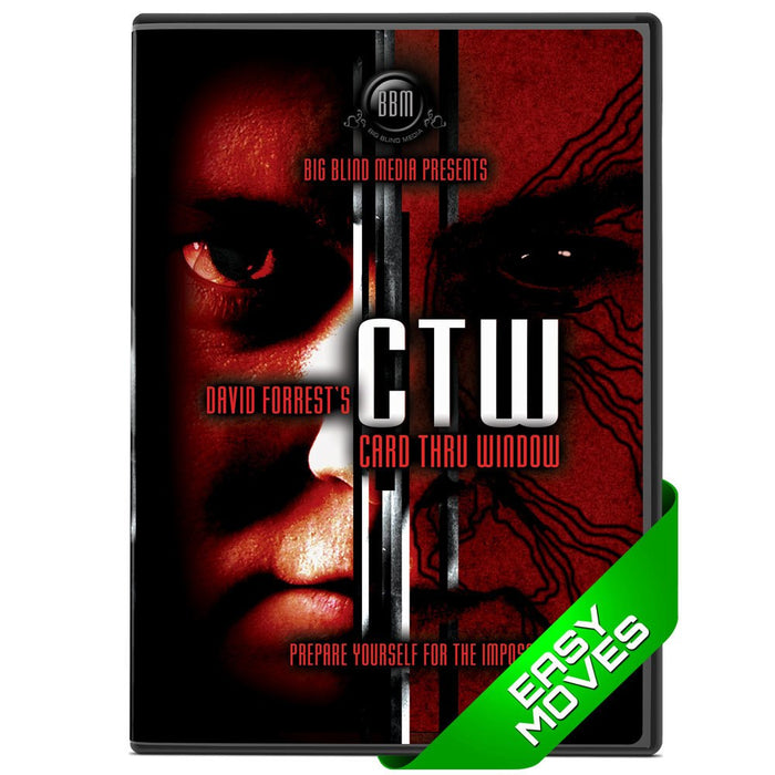 CTW - Card Thru Window (DVD + gimmicks)