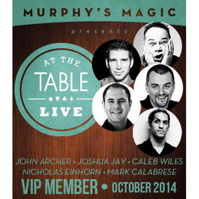Live At The Table - October 2014 VIP Pass