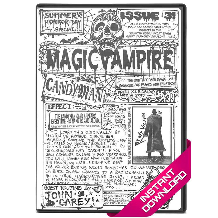 Magic Vampire #3 - Instant Download eBook