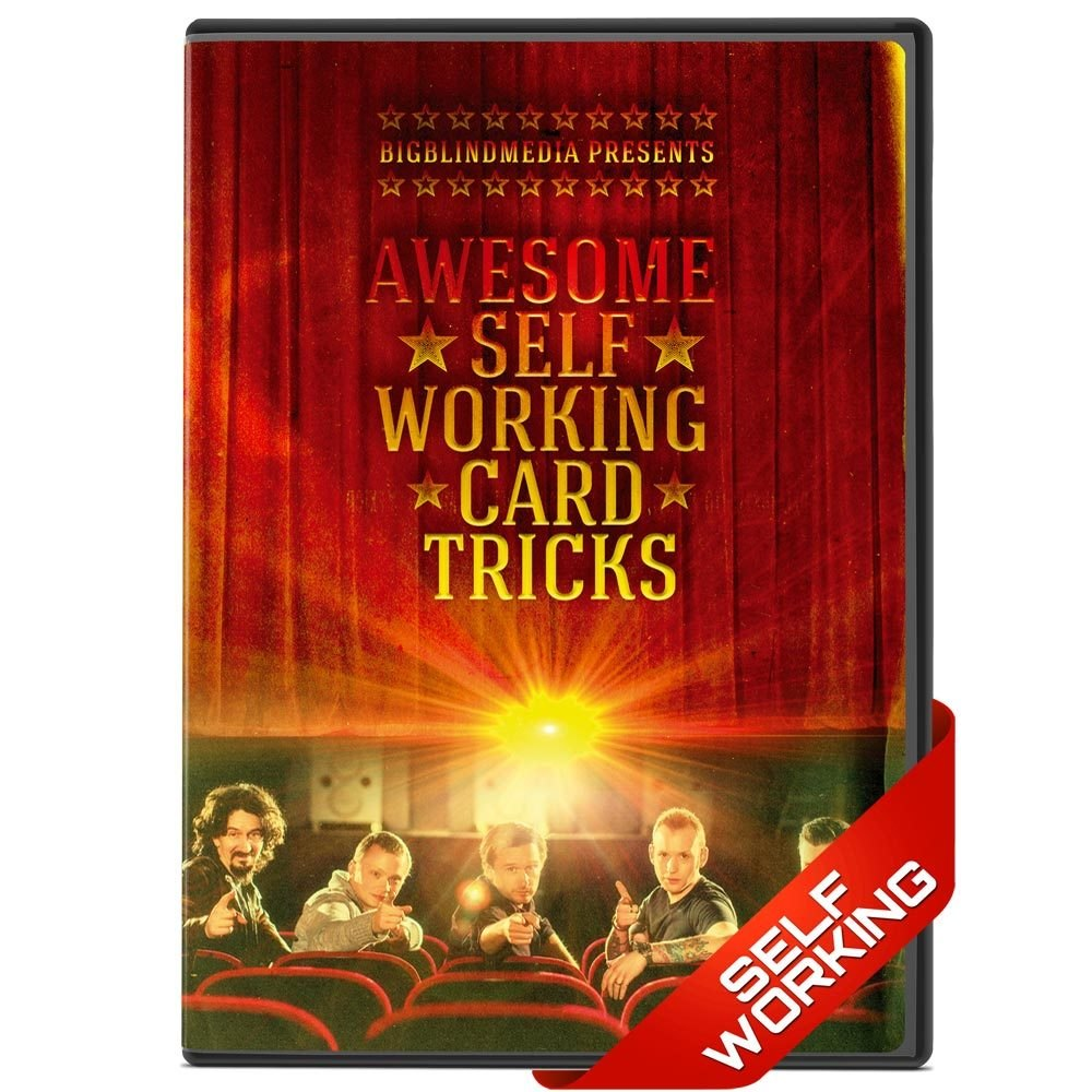 Awesome Self Working Card Tricks - bigblindmedia.com DVD Front