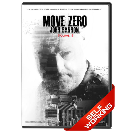 Move Zero Vol 1 by John Bannon - bigblindmedia.com DVD Case