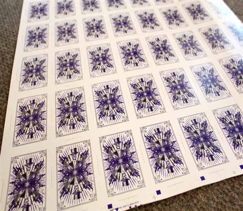 Karnival Renegades (Purple) Uncut Sheet (+ free deck)