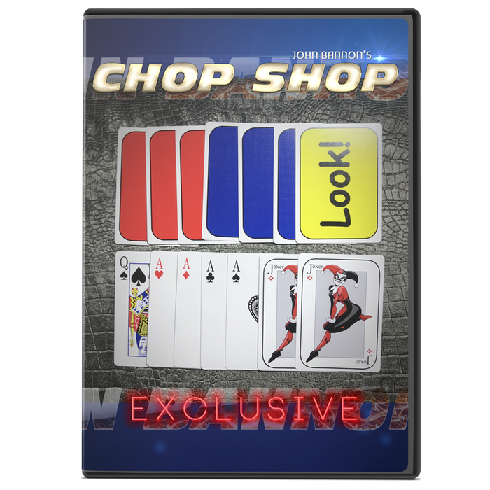 Lucky Book PLUS Chop Shop Packet Trick by John Bannon