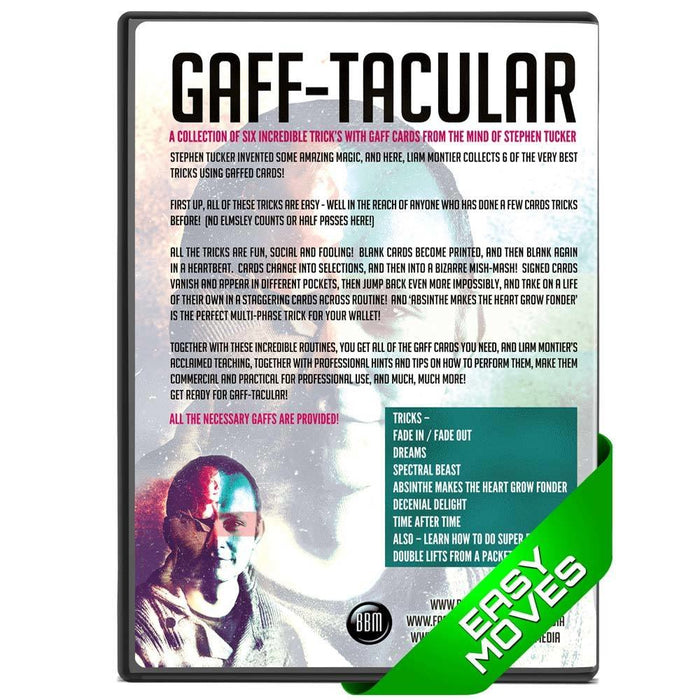 Gafftacular DVD (with 12 gaff cards)