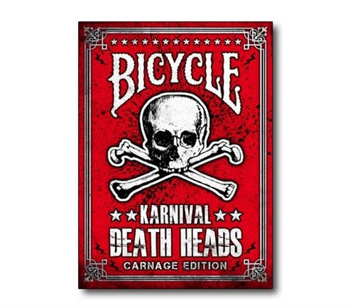 Karnival Death Heads Carnage Playing Cards - bigblindmedia.com Box