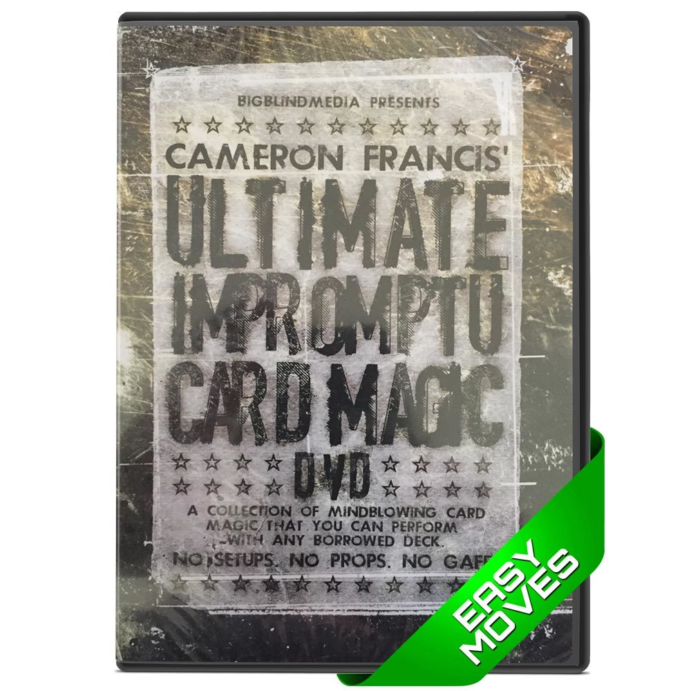 Ultimate Impromptu Card Magic - Cameron Francis