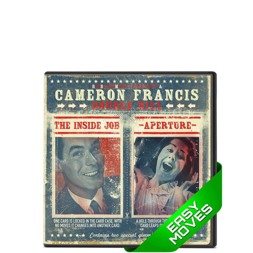 Inside Job Vs Aperture DVD (with gaff cards) - Cameron Francis