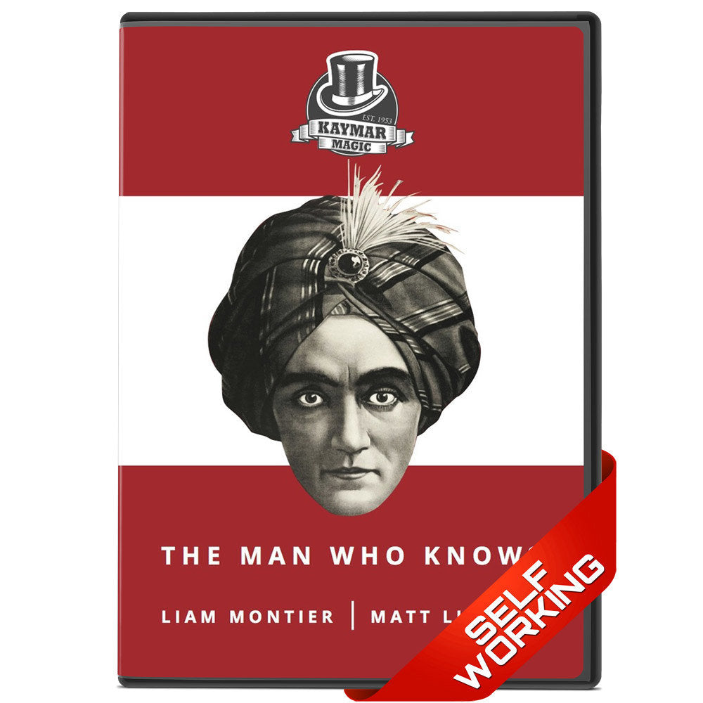 The Man Who Knows by Liam Montier Trick