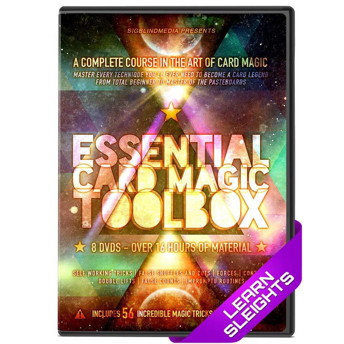 Essential Learn Card Magic Boxset by Liam Montier