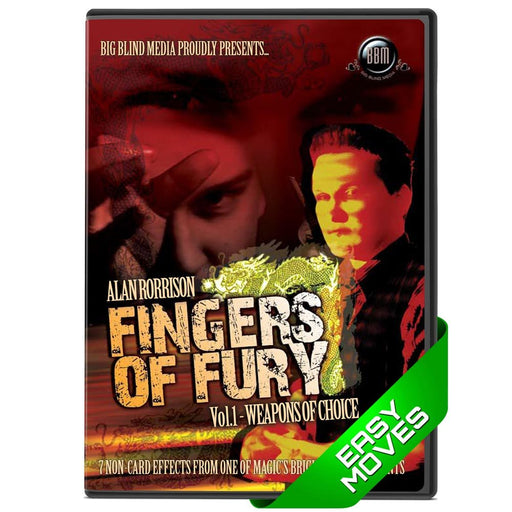Fingers Of Fury Vol 1 - Alan Rorrison