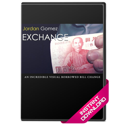 Exchange - Jordan Gomez Bill Change Instant Download