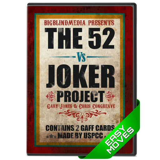 52 vs Joker DVD (with 2 gaff cards) - Gary Jones and Chris Congreave