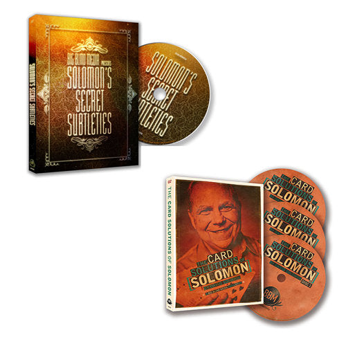 The David Solomon Box SET! Solutions and Secret Subtleties!