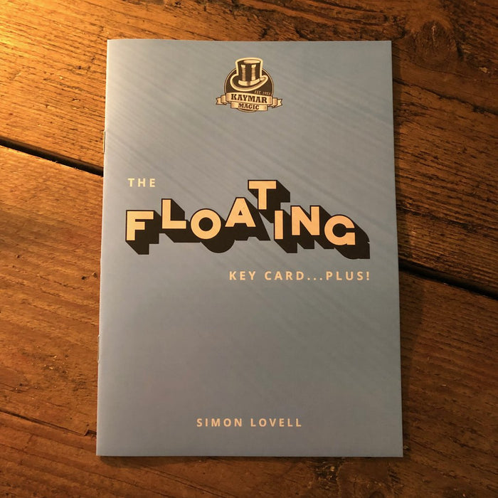 The Floating Key Card - PLUS! Booklet by Simon Lovell