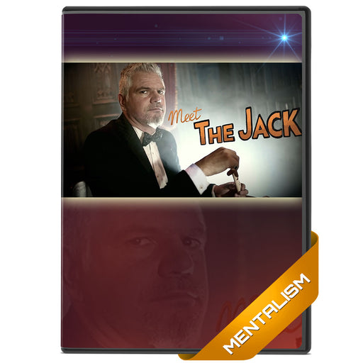 Meet The Jack DVD by Jorge Garcia mentalism D