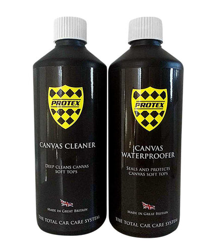 Protex Convertible Soft Top Canvas Cleaner & Waterproofer 1Ltr.