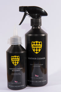 Protex Leather Cleaner & Colour Restorer - BLACK