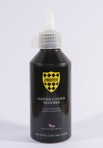 Protex Leather Colour Restorer 250ml - BLACK